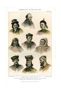 Ethnology, Races of Man, 1800-1900 by R Anderson