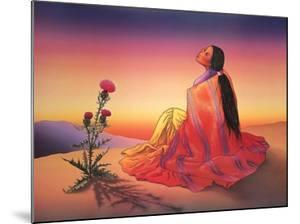 Navajo Dawn by R^ C^ Gorman