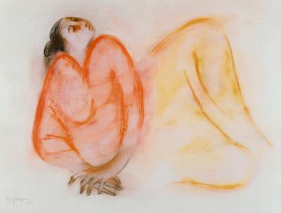 Reclining Woman by R^ C^ Gorman