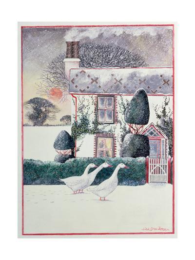 R.G. Janek's First Christmas, 1985-Lisa Graa Jensen-Giclee Print
