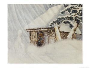 Yuki Onna, Japanese Snow Ghost by R. Gordon Smith