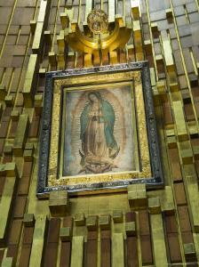 Basilica De Guadalupe, a Famous Pilgramage Center, Mexico City, Mexico, North America by R H Productions