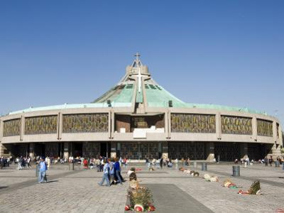 Basilica De Guadalupe, a Famous Pilgrimage Center, Mexico City, Mexico, North America by R H Productions