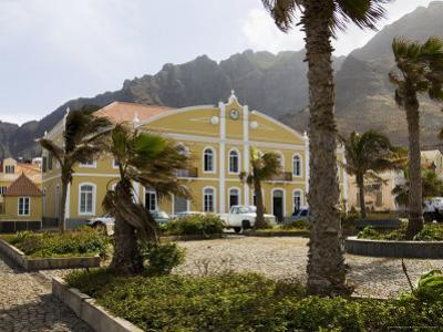Beautifully Restored Municipal Colonial Building, Ribiera Grande, Cape Verde Islands by R H Productions