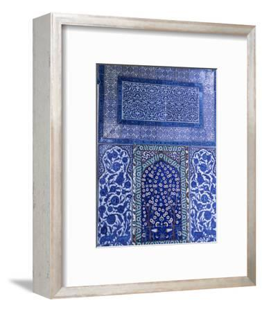 Close-Up of Mosaic, Topkapi Palace, Istanbul, Turkey