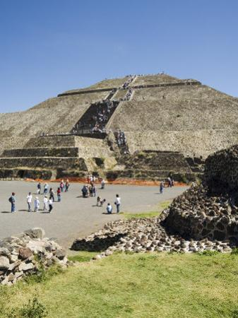 Pyramid of the Sun, Teotihuacan, 150Ad to 600Ad and Later Used by the Aztecs, North of Mexico City by R H Productions