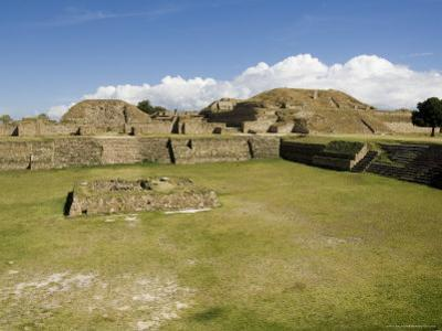 The Ancient Zapotec City of Monte Alban, Unesco World Heritage Site, Near Oaxaca City, Mexico by R H Productions