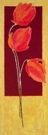 Flowers in Red I