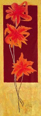 Flowers in Red II