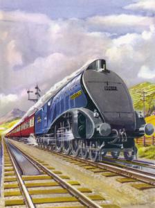 """The London and North Eastern Railway's """"Flying Scotsman"""" Express by R.m. Clark"""