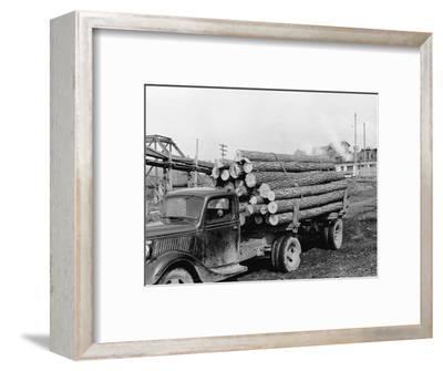 Logging Truck at Sawmill