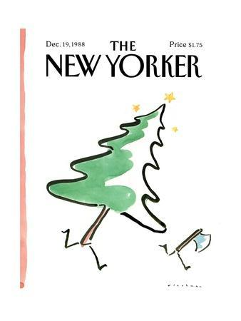The New Yorker Cover - December 19, 1988