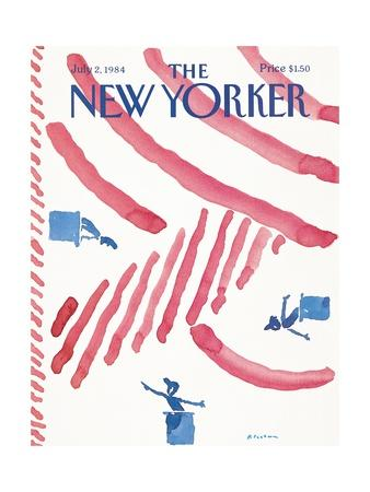 The New Yorker Cover - July 2, 1984