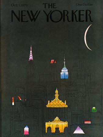 The New Yorker Cover - October 1, 1979