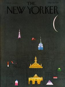 The New Yorker Cover - October 1, 1979 by R.O. Blechman
