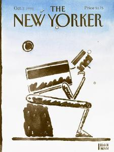 The New Yorker Cover - October 7, 1991 by R.O. Blechman