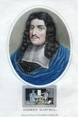 Andrew Marvell, English Metaphysical Poet, 1815
