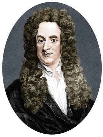 Isaac Newton, English mathematician, astronomer and physicist, (1818)