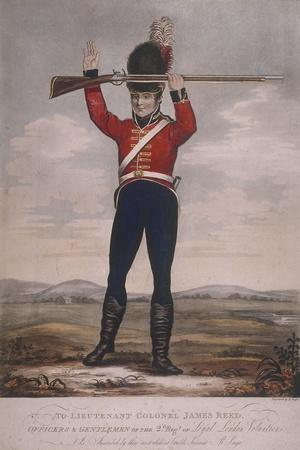 Soldier of the Second Regiment of Loyal London Volunteers, C1800
