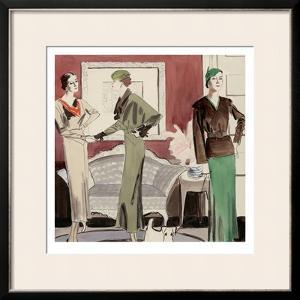 Vogue - March 1932 by R.S. Grafstrom