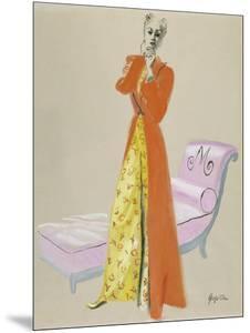 Vogue - October 1937 by R.S. Grafstrom