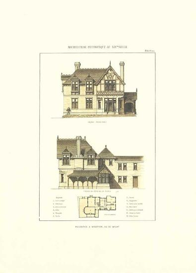 R?sidence a Wootton. Ile de Wight-Archive-Art Print