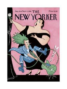 The New Yorker Cover - August 26, 1996 by R. Sikoryak