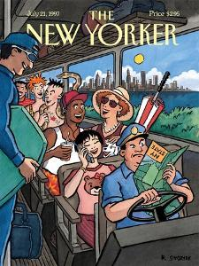 The New Yorker Cover - July 21, 1997 by R. Sikoryak