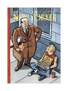 The New Yorker Cover - September 25, 1995 by R. Sikoryak