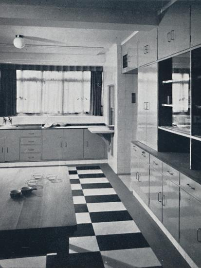 R. W. Symonds and Partner, L. & A.R.I.B.A. - Kitchen-Unknown-Photographic Print