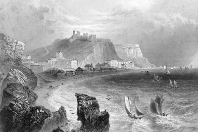 The Coastline at Hastings, East Sussex, 1840