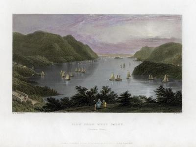 The Hudson River as Seen from West Point, USA, 1837