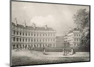 The Circus, Bath, C.1883 by R. Woodroffe