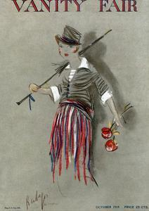 Vanity Fair Cover - October 1914 by Rabajoi