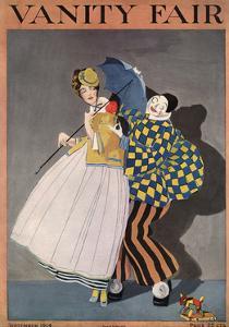 Vanity Fair Cover - September 1914 by Rabajoi