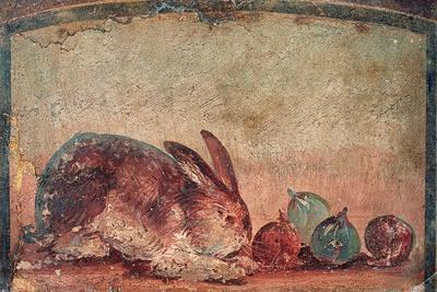 Rabbit Easting Figs, C. 45-79--Art Print