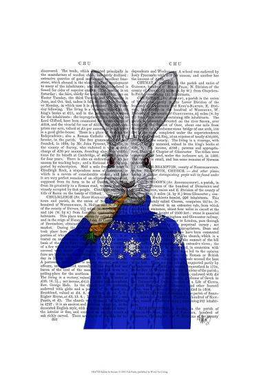 Rabbit In Sweater-Fab Funky-Art Print