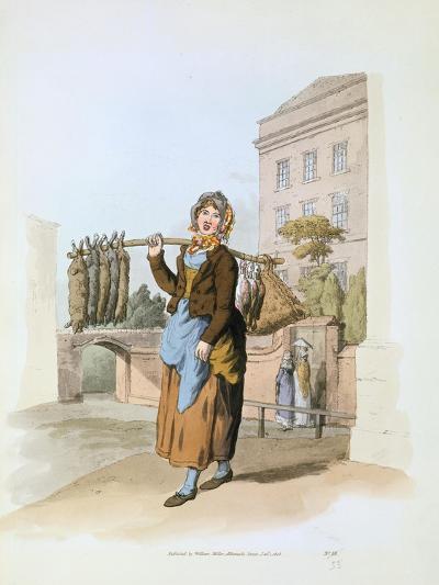 Rabbit Seller, 1808-William Henry Pyne-Giclee Print