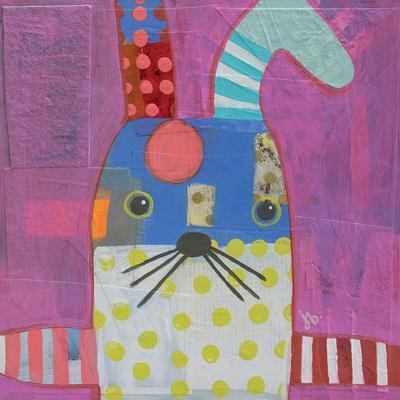 Rabbit-Julie Beyer-Art Print