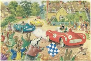 Rabbits in Race Cars