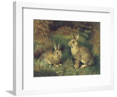 Rabbits-Henry Carter-Framed Giclee Print