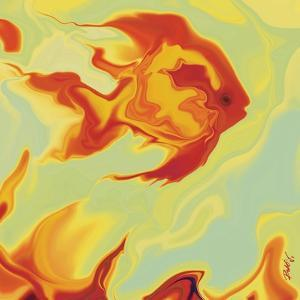 Gold Fish 1 by Rabi Khan