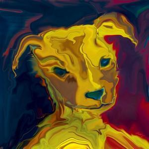 Potrait-of-a-Puppy by Rabi Khan