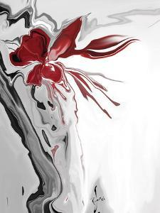 Red Orchid 1 by Rabi Khan