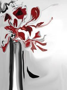 Red Orchid 2 by Rabi Khan