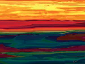 Sunset in Ottawa valley by Rabi Khan