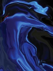 the blue kiss by Rabi Khan