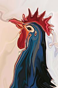 The Blue Rooster by Rabi Khan