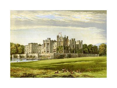 Raby Castle, County Durham, Home of the Duke of Cleveland, C1880-AF Lydon-Giclee Print
