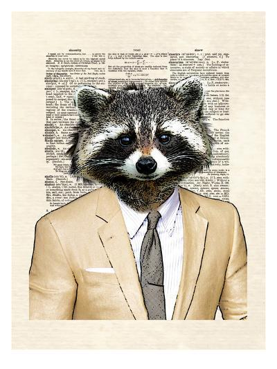 Raccoon-Matt Dinniman-Art Print